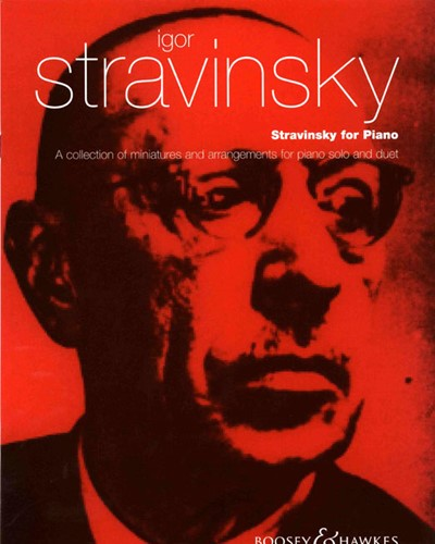 Stravinsky for Piano