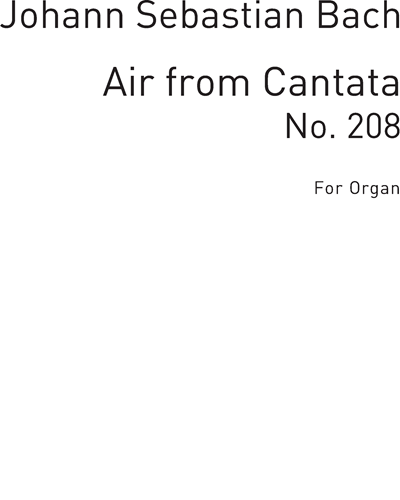 Air From Cantata No. 208