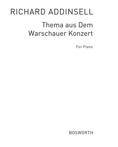 Warschauer Konzert für Piano-Solo