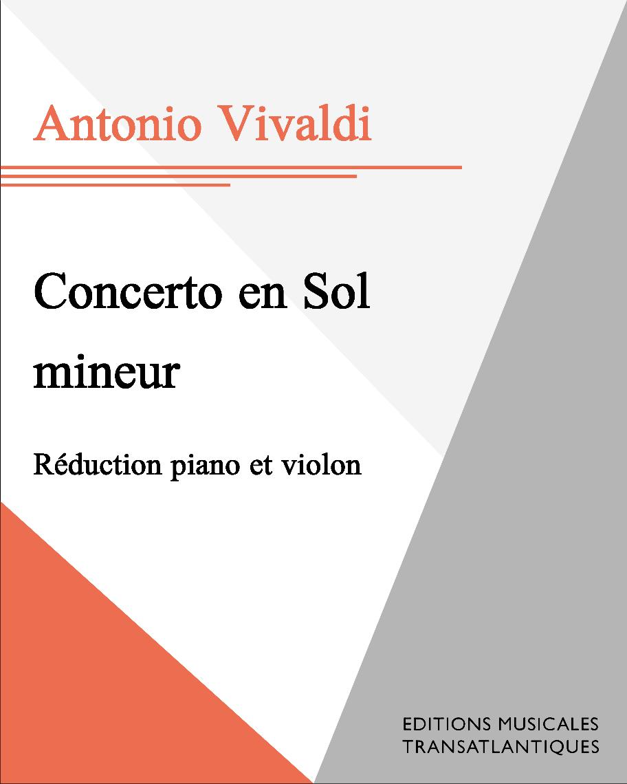 Concerto en Sol mineur