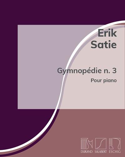 Gymnopédie n. 3