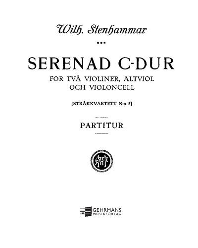 Serenade in C major