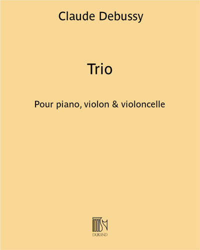 Trio pour piano, violon & violoncelle