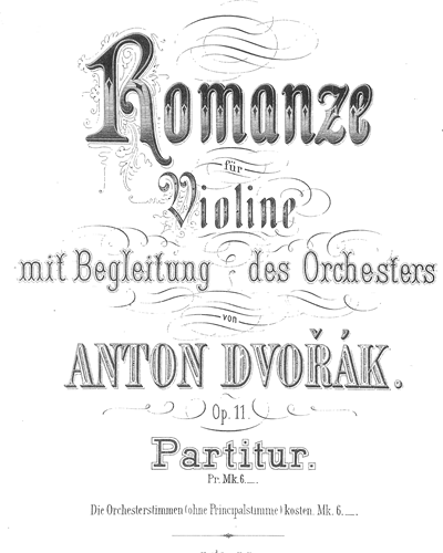 Romance for Violin & Orchestra