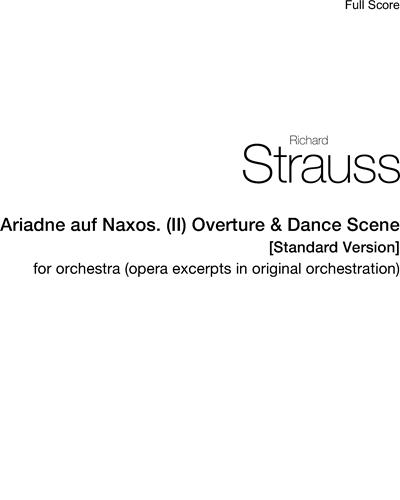 Ariadne auf Naxos. (II) Overture & Dance Scene