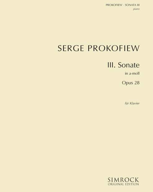 Piano Sonata No. 3 in A minor, op. 28