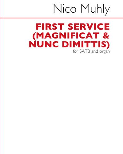 First Service: Magnificat & Nunc Dimittis