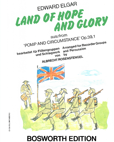 """Land Of Hope And Glory (from """"Pomp and Circumstance"""" Op. 39, No. 1)"""