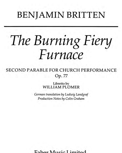 Burning Fiery Furnace, The