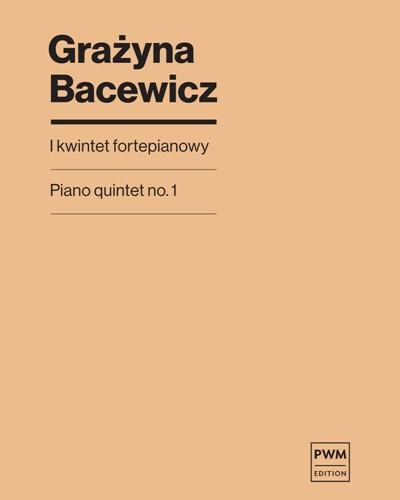 Piano Quintet No. 1