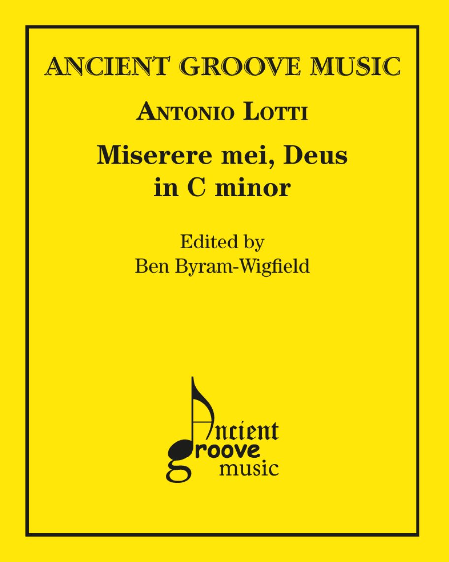 Miserere mei in C minor
