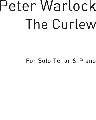 The Curlew for Solo Tenor and Piano