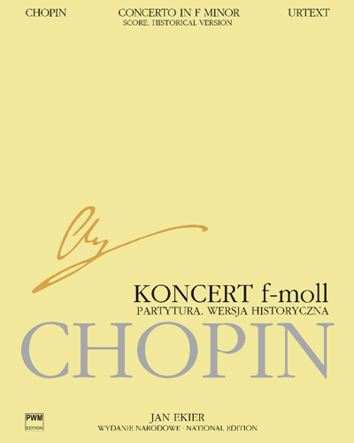 Concerto in F minor, op. 21 (National Edition, Historical Version)