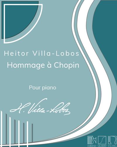 Hommage à Chopin - Pour piano