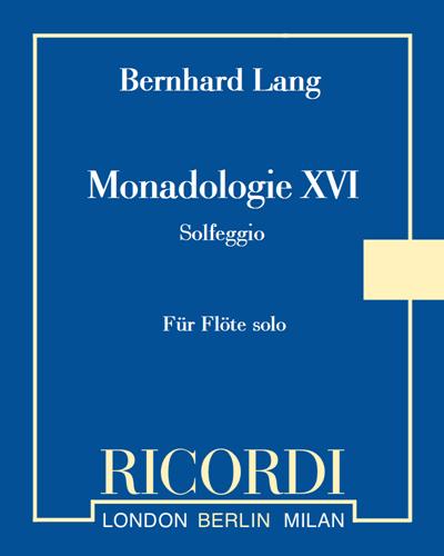 """Monadologie XVI """"Solfeggio"""""""