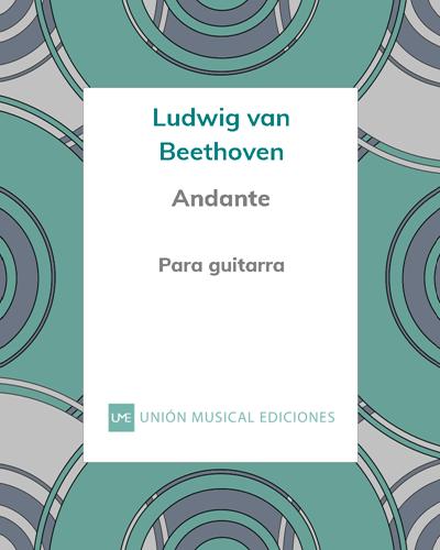 Andante (de la Sonata n° 10, Op. 14 n° 2)