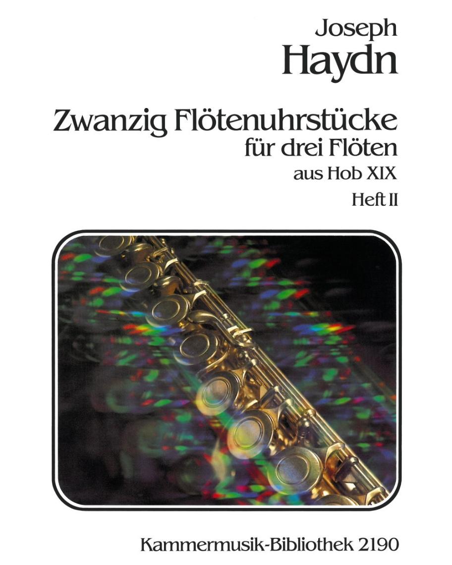 20 Flötenuhrstücke aus Hob XIX - Heft II