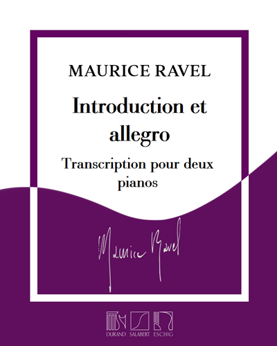Introduction et allegro - Transcription pour deux pianos