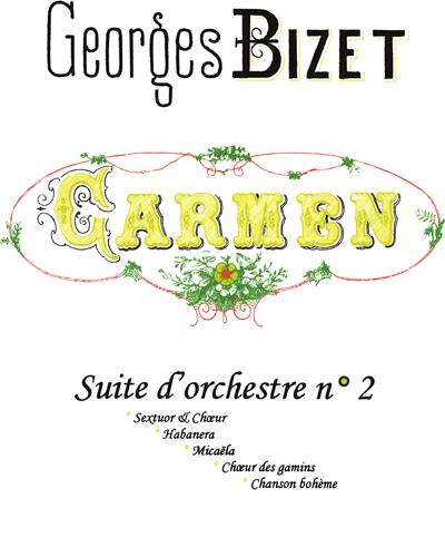 Carmen Suite D'Orchestre No. 2
