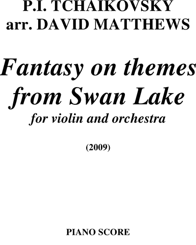 Fantasy on themes from Swan Lake
