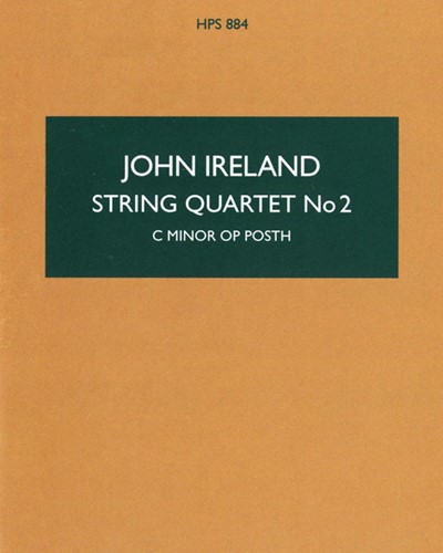 String Quartet No. 2 in C minor, op. posth.