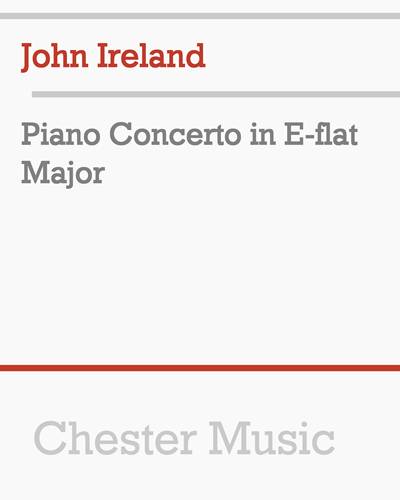 Piano Concerto in E-flat Major