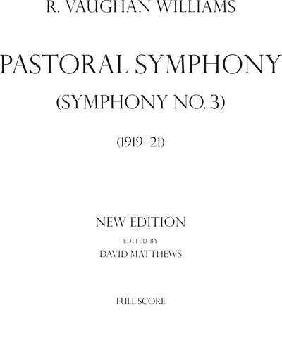 Pastoral Symphony (Symphony No 3)