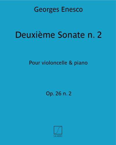 Deuxième Sonate Op. 26 n. 2