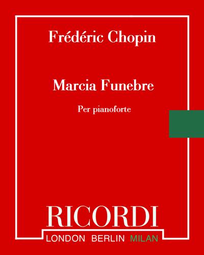 """Marcia Funebre (dalla """"Sonata Op. 35"""")"""
