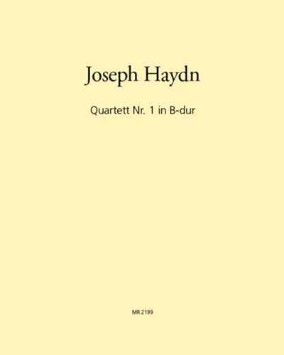 Quartett Nr. 1 in B-dur