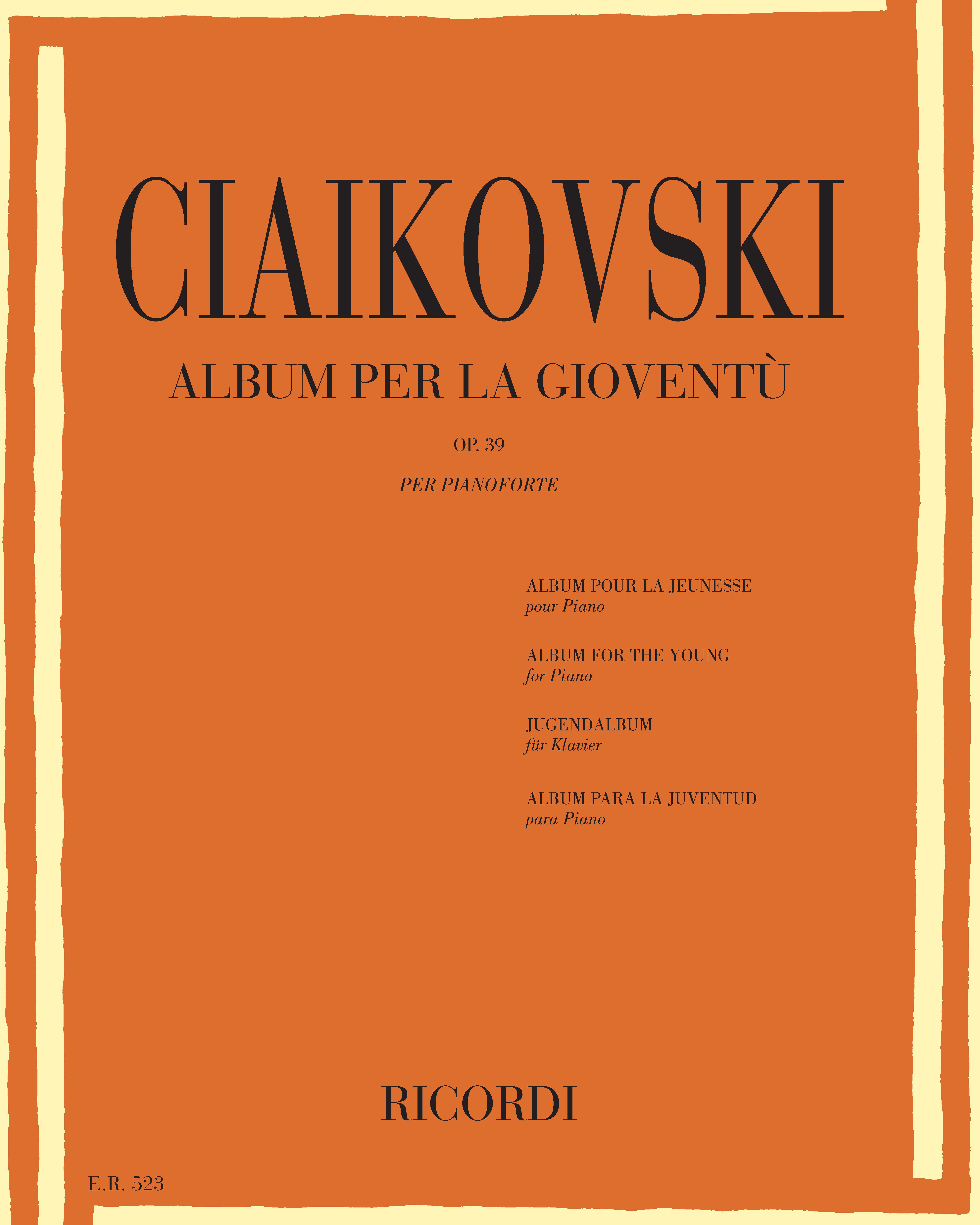 Album per la gioventù Op. 39