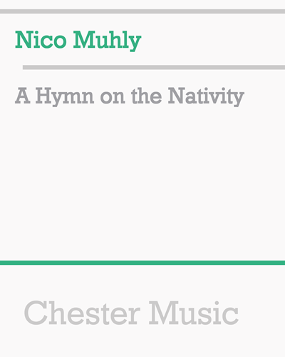 A Hymn on the Nativity