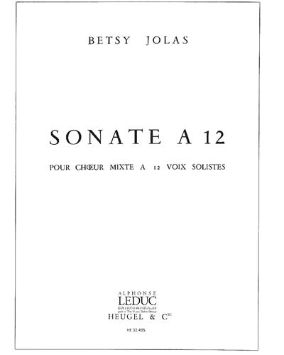 Sonate à 12