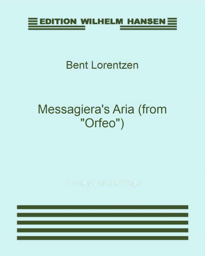 "Messagiera's Aria (from ""Orfeo"")"