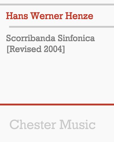 Scorribanda Sinfonica [Revised 2004]