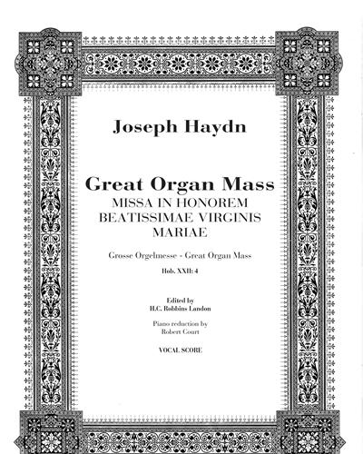 Great organ mass