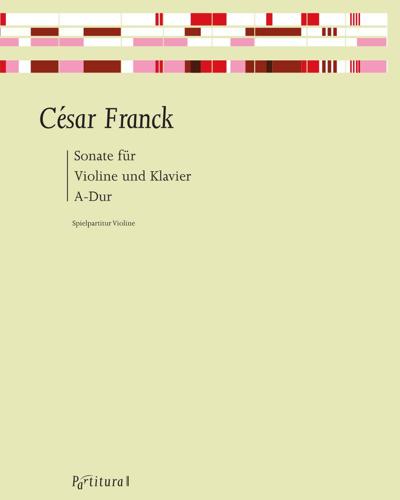 Sonata A Major for Violin and Piano