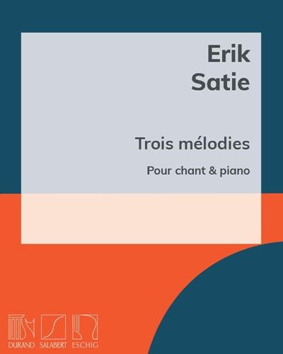 Trois mélodies pour chant & piano