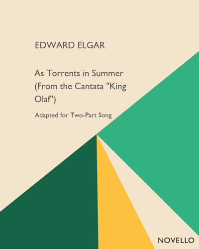 "As Torrents in Summer (From the Cantata ""King Olaf"")"