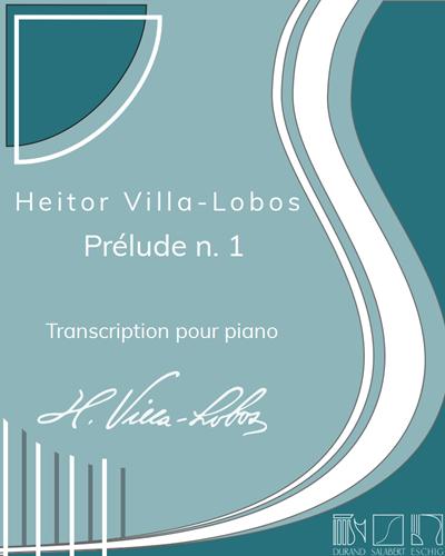 """Prélude n. 1 (extrait des """"Cinq Préludes"""") - Transcription pour piano"""