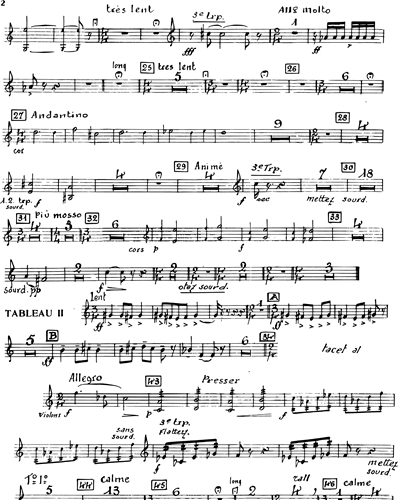 Dialogues of the Carmelites Vocal Score