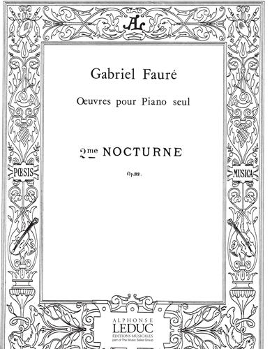 Nocturne No. 2 Op. 33