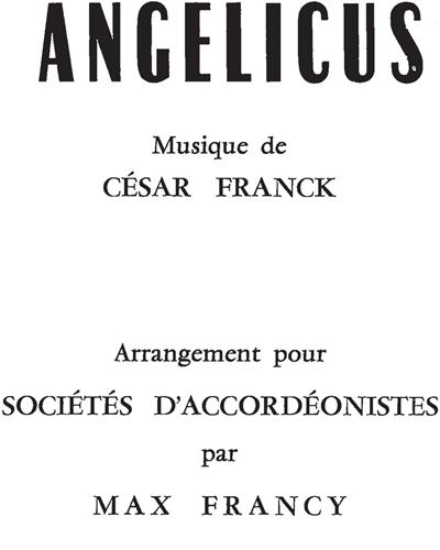 Panis Angelicus