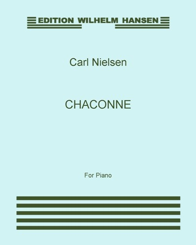 Chaconne, Op. 32 [Critical Edition]