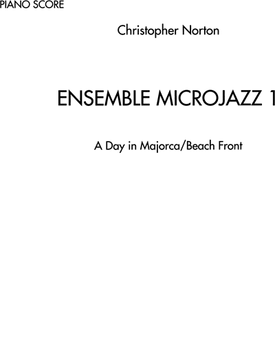Ensemble Microjazz, Vol. 1