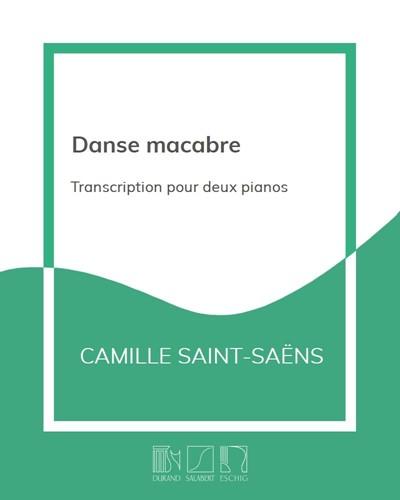 Danse macabre - Transcription pour deux pianos