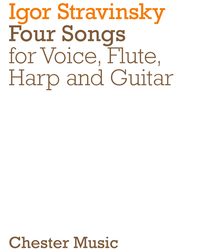 Four Songs for Voice, Flute, Harp and Guitar