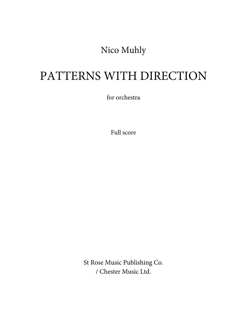 Patterns with Direction