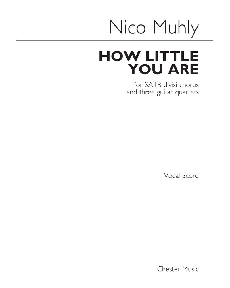 How Little You Are