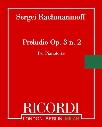 Preludio Op. 3 n. 2